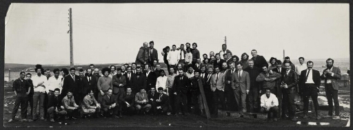 17ème mission, 1967, photo de groupe